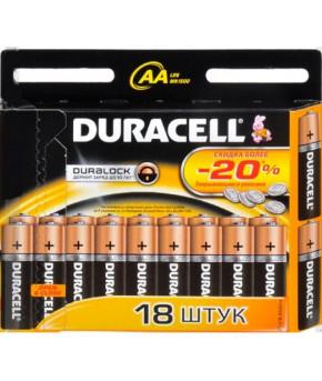 Батарейки Duracell AAA-LR03 MN2.4 (18шт) цена за штуку