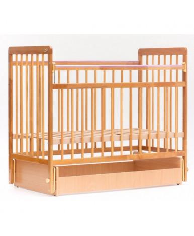 Кровать детская Bambini Euro Style 05, натуральный