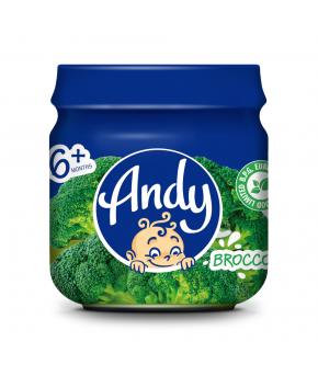 Пюре ANDY капуста брокколи 80г
