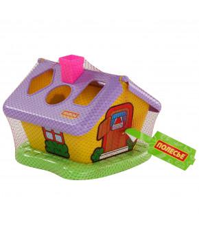 Развивающая игрушка-сортер Полесье Садовый домик