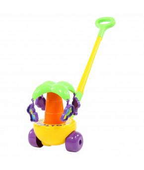 Игрушка-каталка Полесье Пальма с ручкой