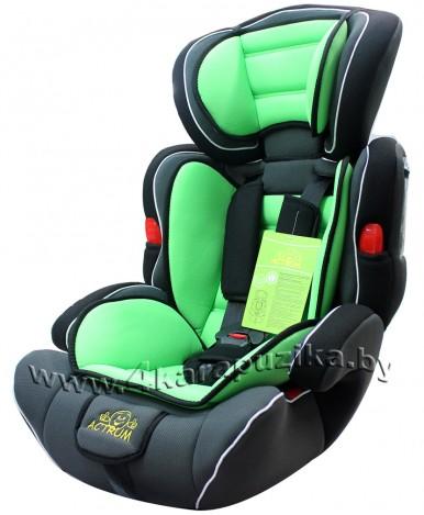 """Автокресло """"Actrum"""" BXS 208 зелёный (9-36кг)"""