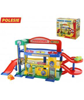 """Гараж Polesie №1 """"Премиум"""" с автомобилями (в коробке)"""