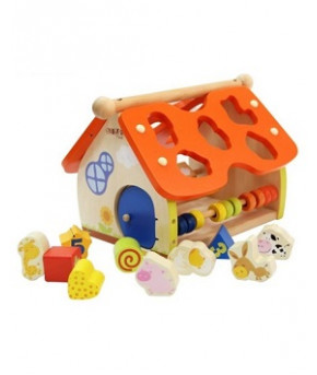 Развивающая игрушка-сортер Дом