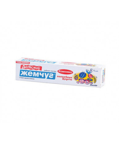 Зубная паста Жемчуг Детский 50мл