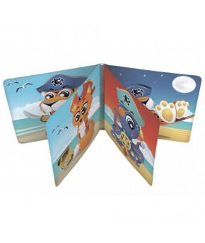 Развивающая игрушка-книга Canpol клеёнчатая с пищалкой Пираты