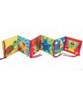 Развивающая игрушка-книга Canpol мягкая для купания Marine Friends