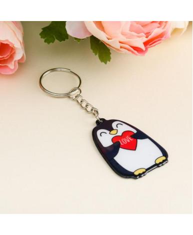 Брелок Пингвин, 3,4х4,9см