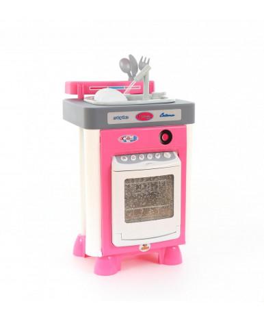 Духовая плита Полесье Carmen с посудомоечной машиной и мойкой