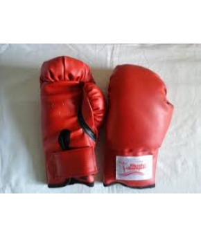 Перчатки бокс 4 унц. цвет красный
