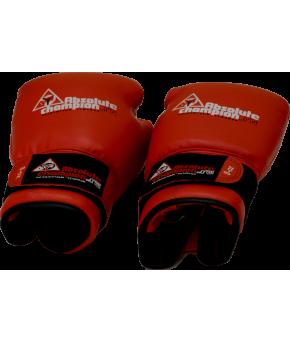 Перчатки бокс 6унц. цвет красный