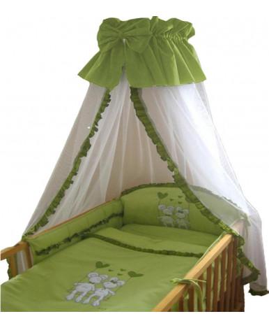 Комплект в кроватку Migliori Веселые мышата салатовый 7пр