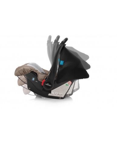 Автокресло Baby Design LEO new 10 BLACK (0-13кг)