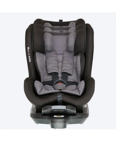 Автокресло Espiro Alpha i- Size  10 black (0-18кг)