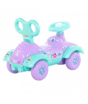 Автомобиль-каталка Полесье Disney Холодное сердце (в лотке)