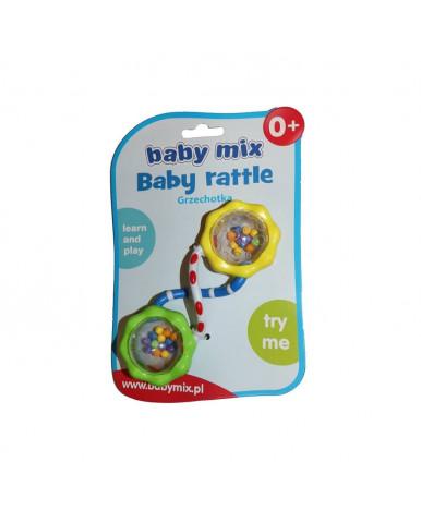 Погремушка Baby mix Восьмёрка пластиковая