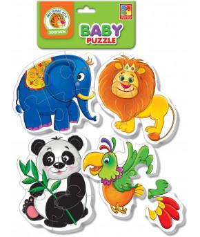 Настольная игра Беби пазлы Зоопарк