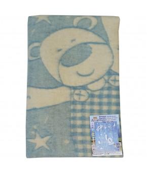 Одеяло Ярослав полушерстяное цвета в асортименте 100х140см
