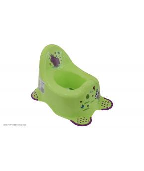 Горшок Lorelli Hippo анатомический Green