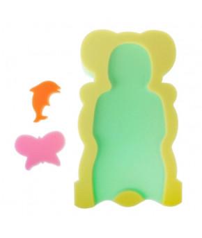 Губка для купания Maxi желтая