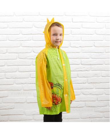 Детский дождевик В поисках приключений, размер M