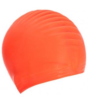 Шапочка для плавания детская Mad Wave резиновая, микс