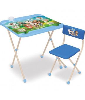 Мебельный комплект Nika Kids Кто чей малыш