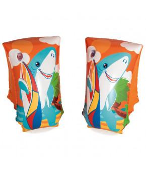 Нарукавники для плавания Aquatic Life 30 x15 см, от 5-12 лет, микс 32102