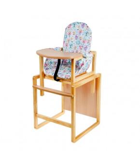 Стол-стул трансформер Алекс, голубой