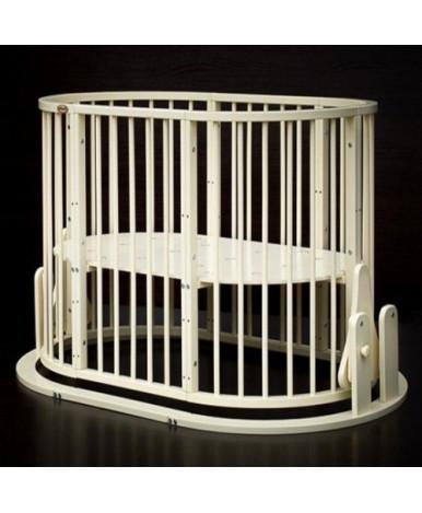 Кровать трансформер 7в1 Bambini М 14, маятник, слоновая кость