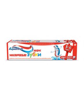 Зубная паста Aquafresh Мои молочные зубки My little teeth 50мл