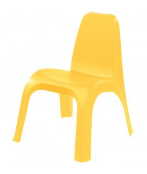 Стул Пластишка желтый, 380х425х525 мм