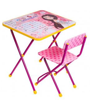 Мебельный комплект Nika Kids Познайка Маленькая принцесса