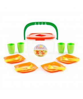 """Набор детской посуды """"Polesie"""" Алиса для пикника"""