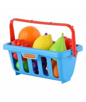Набор продуктов Полесье с корзинкой 46963