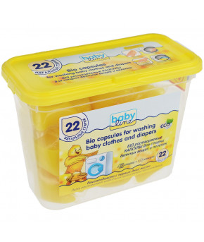 Био-капсулы Baby line автомат для стирки детских вещей, 22шт
