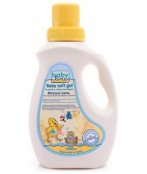 Средство жидкое Baby line для стирки детских вещей и пеленок, гель, 850мл