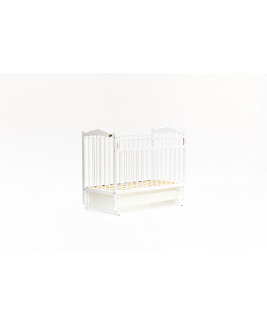 Кровать детская Bambini Classic 11, белый
