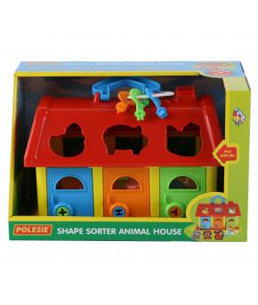 Домик для зверей (в коробке)