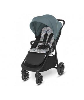 Прогулочная коляска Baby Design COCO 2021 05 turquoise
