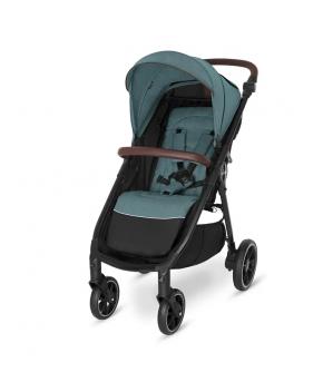 Прогулочная коляска Baby Design LOOK 2021 105 turquoise