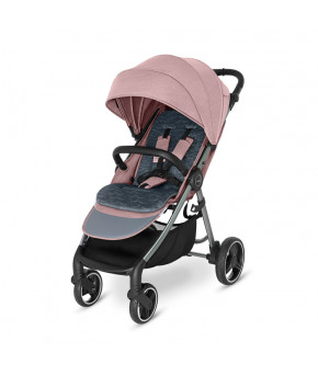 Прогулочная коляска Baby Design WAVE 2021 108 pink