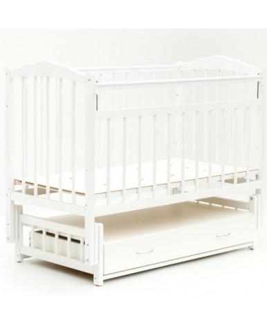 Кровать детская Bambini Classic 10, белый