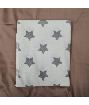 Пеленка Sofi Большие звезды фланель 80х100см
