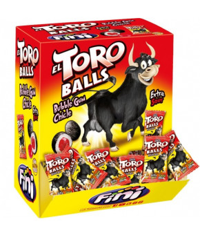 Жевательная резинка Eltoro Balls Бычьи яйца с кислой начинкой 5г