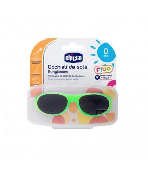 """Очки """"Chicco"""" Unisex флуоресцентные зеленые солнцезащитные, 0 мес+"""