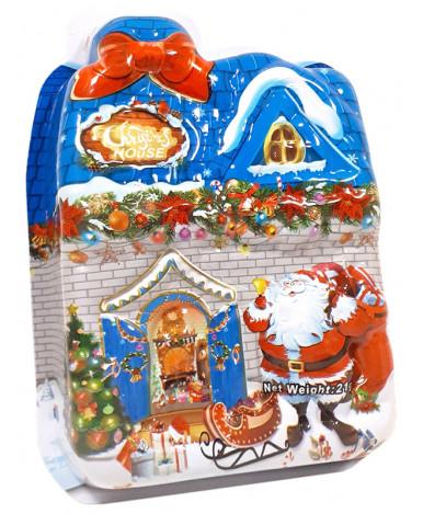 Игрушка сюрприз Christmas House со сладким набором 21 г