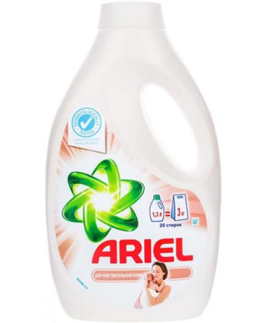 """Средство жидкое """"Ariel"""" для стирки, гель, для чувствительной кожи, 1.04л"""