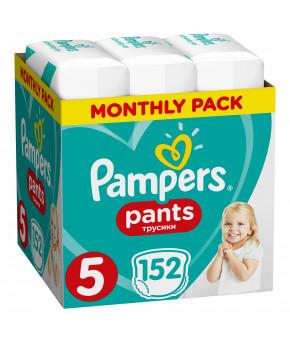Подгузники-трусики Pampers Pants 5 (12-17 кг) 152шт (2 части цена за 76шт)