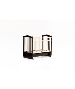 Кровать детская Bambini Classic 11, темный орех/слоновая кость